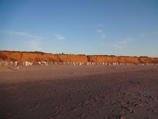 Sonnenuntergang am Roten Kliff