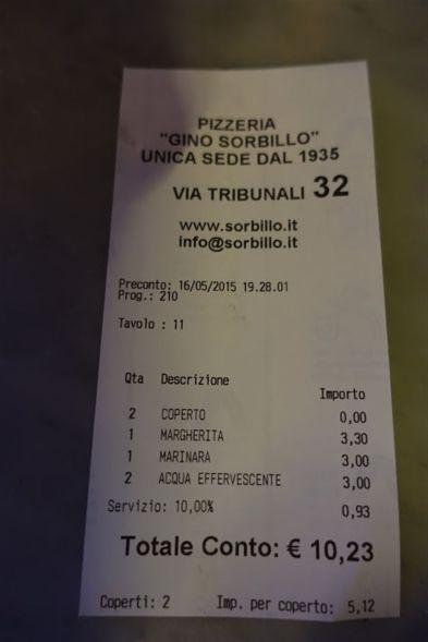 Schnäppchen-Pizza