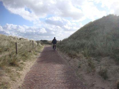 Dünenweg bei Alkmaar