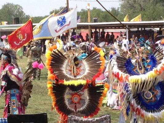 Tänzer Crow Fair