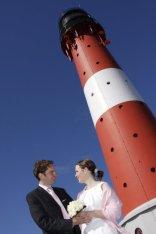 Leuchtturm-Hochzeit Sylt