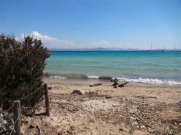 Strand auf Porquerolles