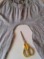 610f3 2014 04 1212 00 38 - Croptop maken van een oude/nieuwe legging