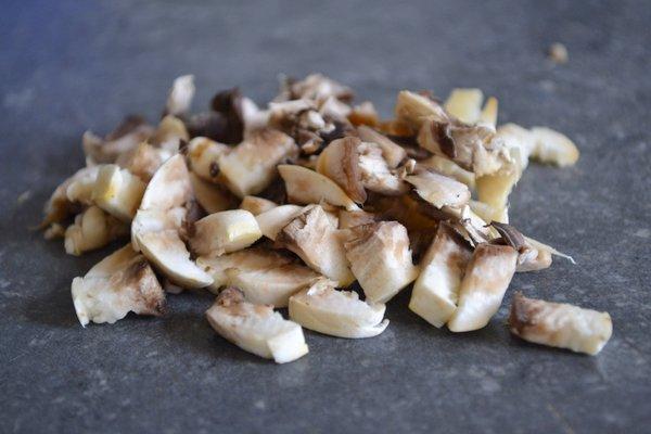 champignons saus