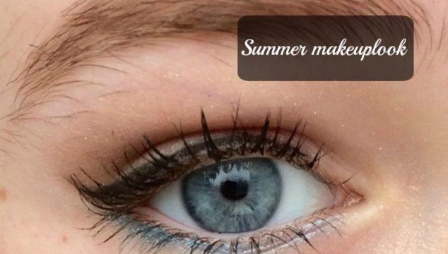 Summer make-up look