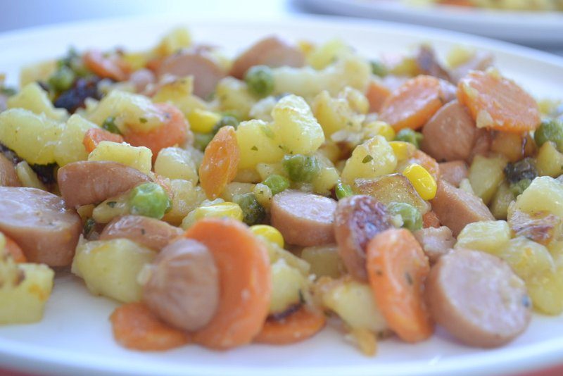 eetdagboek op vakantie aardappelschotel