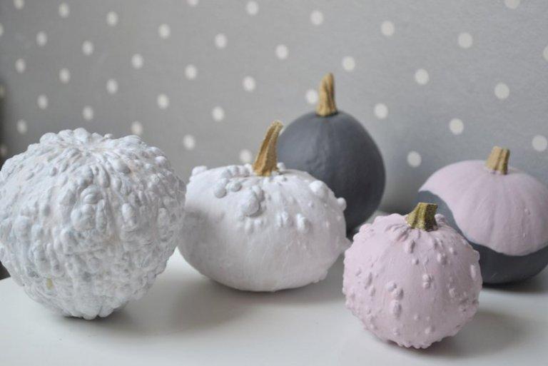 knutselen met pompoenen