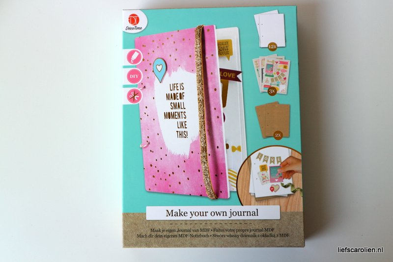 Decotime - Maak je eigen journal van MDF (Action stuff)