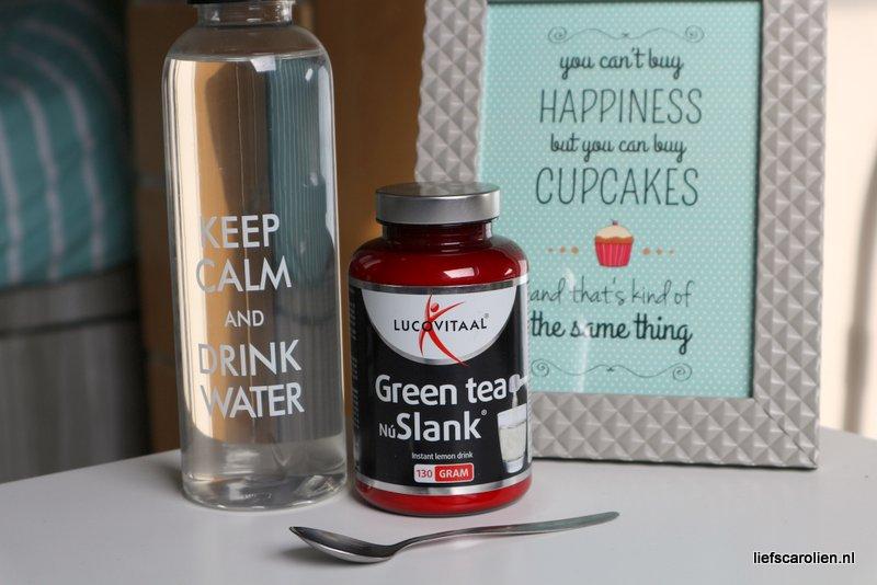 Lucovitaal Green tea nu slank