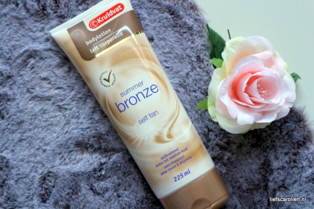 Kruidvat bodylotion summer breeze self tan