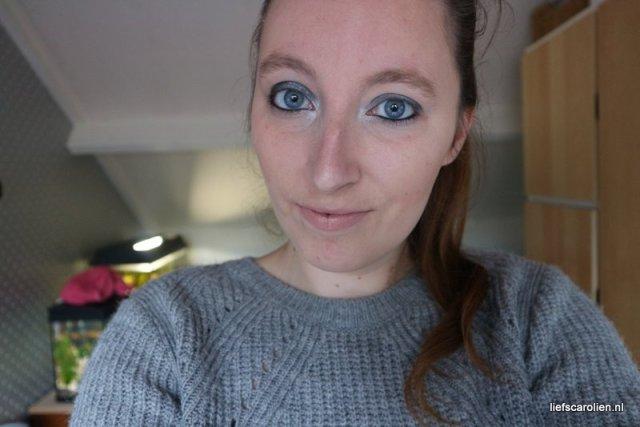 simpele makeup look