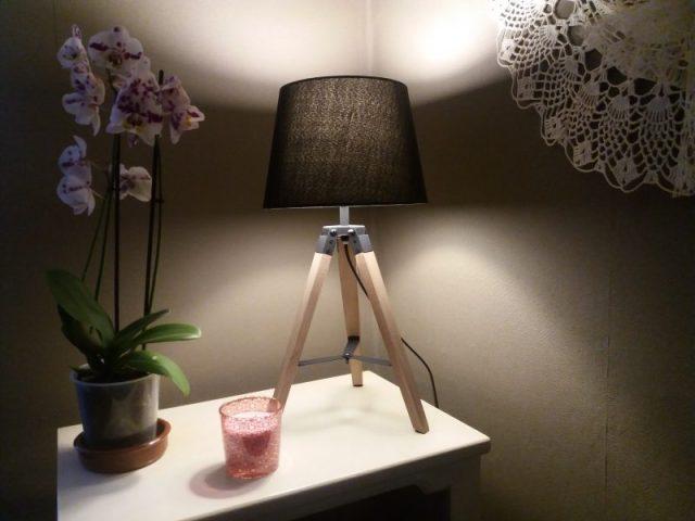 Goede verlichting in de woonkamer