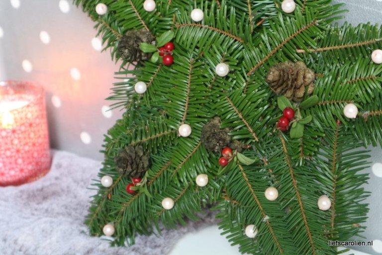 kerstkrans maken