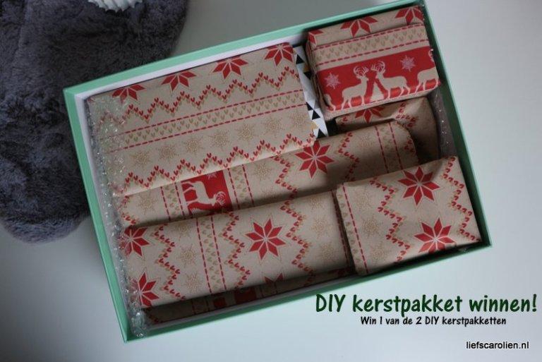 DIY kerstpakket, kerstpakket, winactie