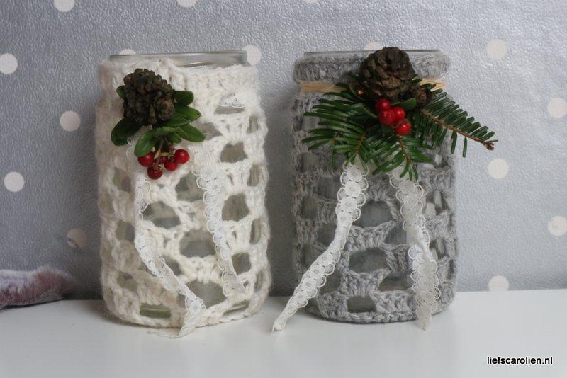 christmas mason jar DIY
