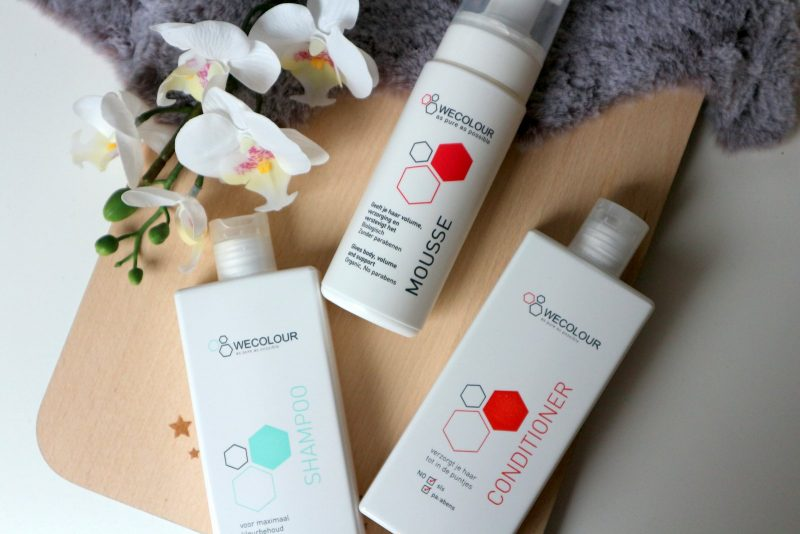 wecolour, natuurlijke haarverf, conditioner, shampoo, mousse