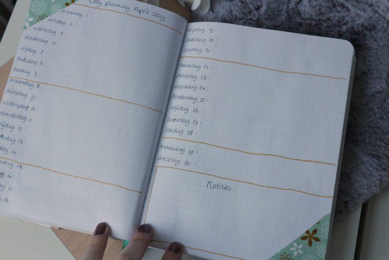 blogplanning april 2019