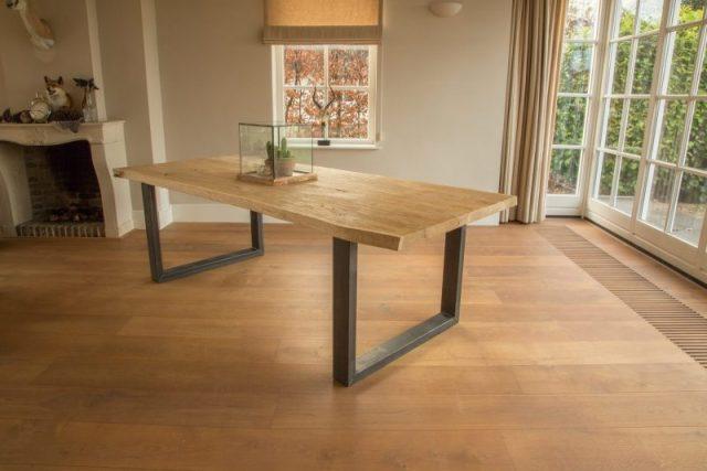 boomstamtafel birmingham, 5x mooiste eiken tafels, eiken tafel