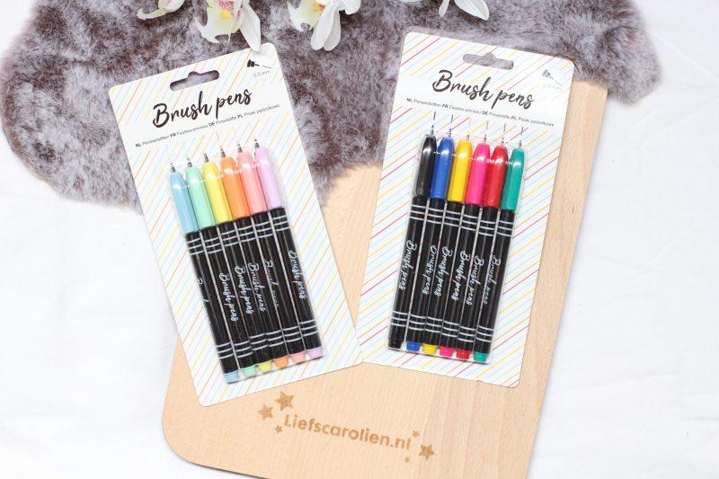 brush pens action, action brush pens,