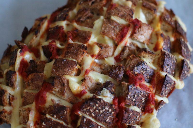 pizza plukbrood