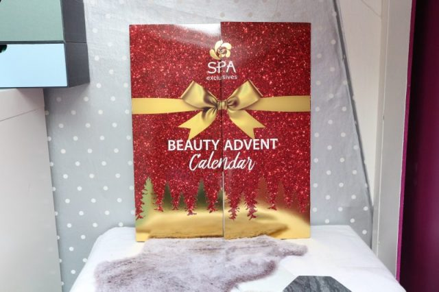 Beauty advent calender Spa exclusives