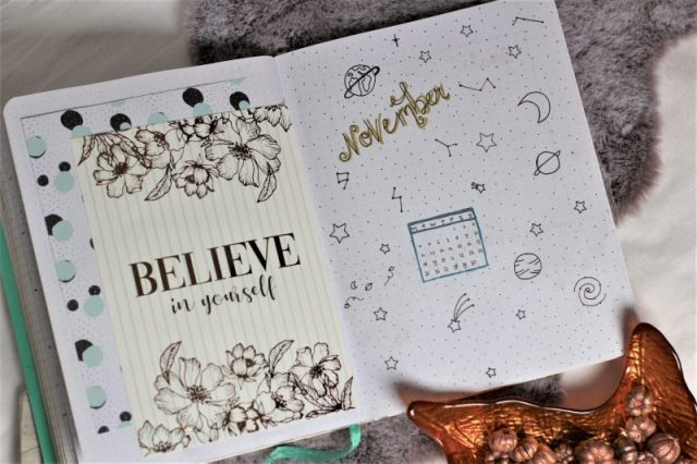 plan with me november 2019, bullet journal,