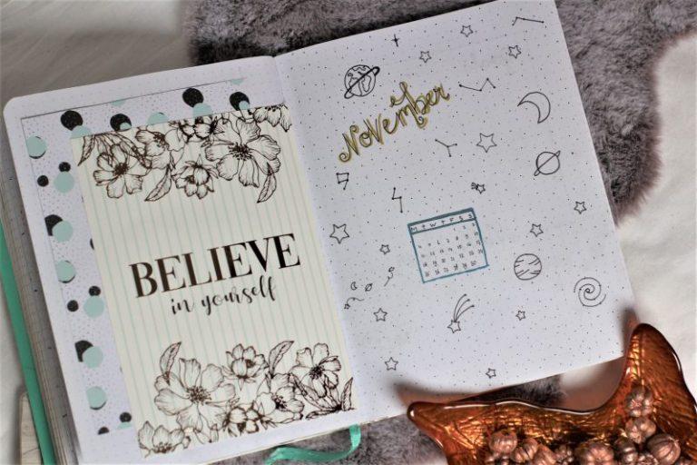 plan with me november 2019, bullet journal,