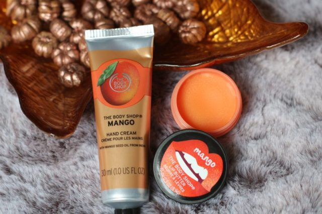 The body shop | Mango – Lippenbalsem en hand cream