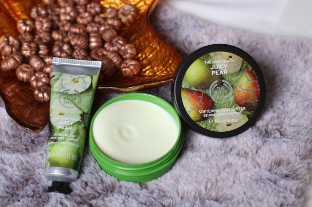 The body shop | Juicy pear – body butter en hand cream