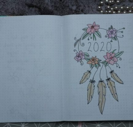 bullet journal setup 2020