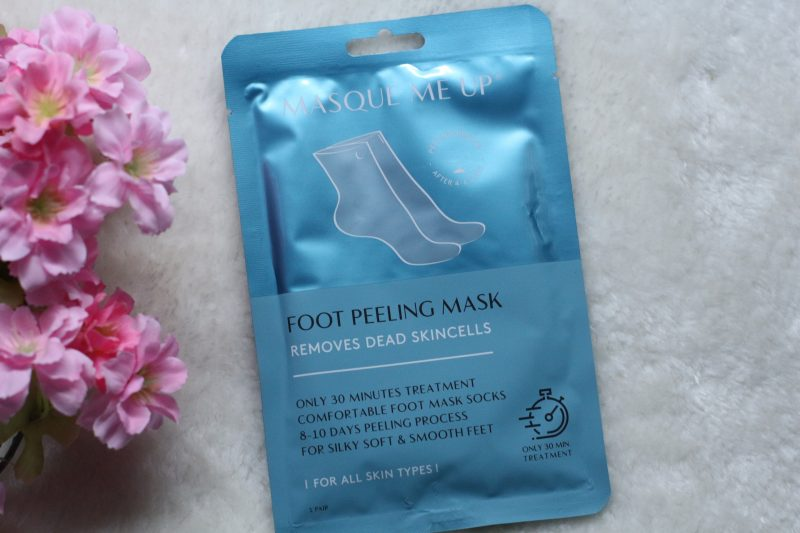 Masque me up Foot peeling mask