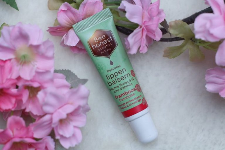 Bee honest cosmetics Bijenwas lippenbalsem framboos