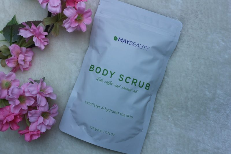 maybeauty body scrub