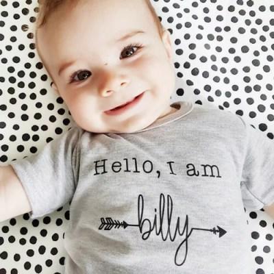 Hello I am shirt baby