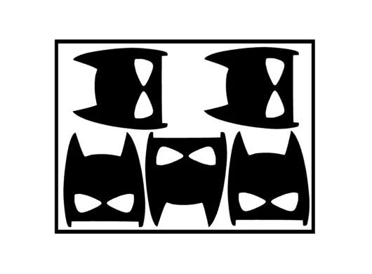 muursticker superhelden