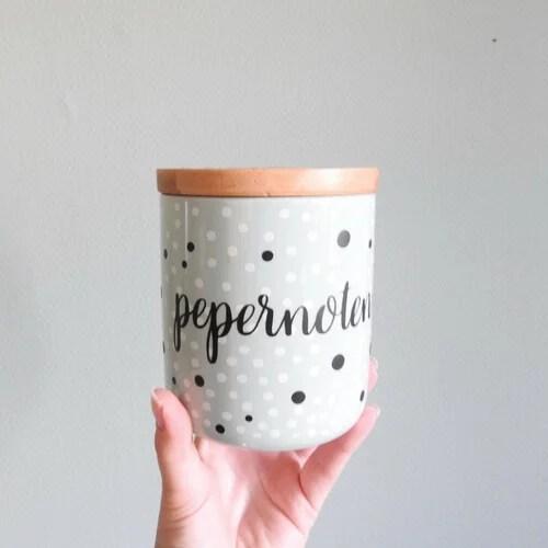 Pepernotenpot zelfmaken
