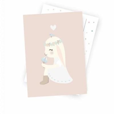 Mevrouw hanni lieve kaart kinderkamer