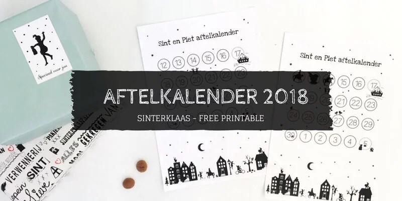 Aftelkalender Sinterklaas 2018