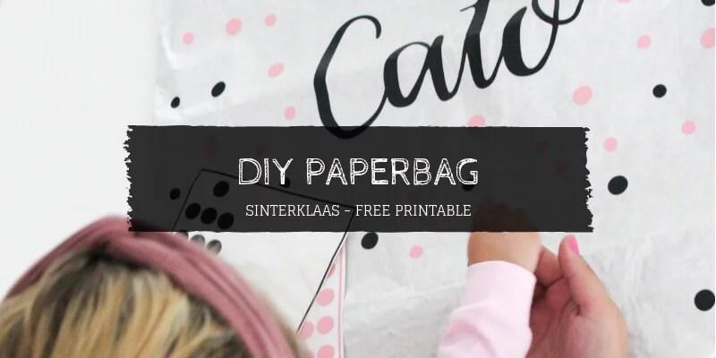DIY Paperbag Liefs van Cindy