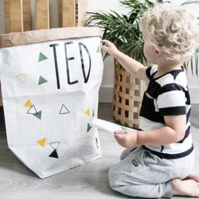 DIY Paperbag versieren
