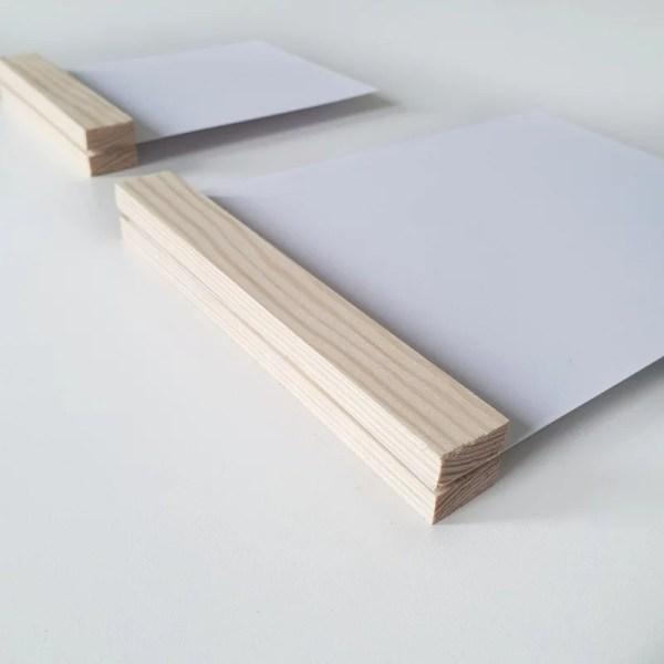 DIY kaarten houder pakket