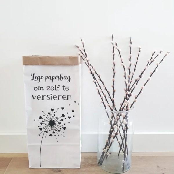 Paperbag zelf versieren
