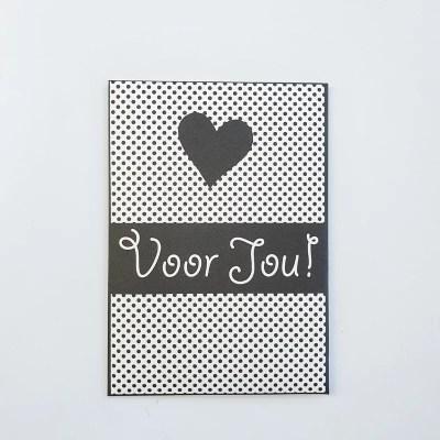deurzakjes kaart voor jou