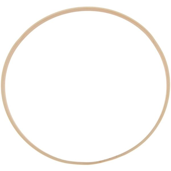 Decoratie ring bamboe 30 cm