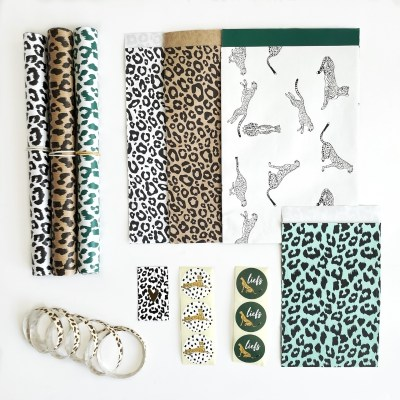 inpakte combi dieren print