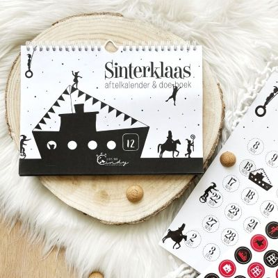 aftelkalender doeboek Sinterklaas
