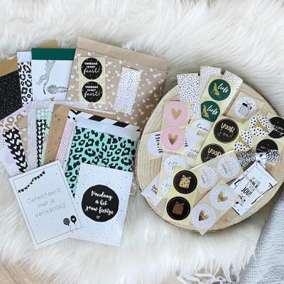 inpakzakjes en stickers