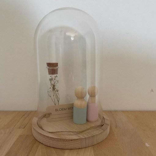 medium stolp, glazen stolp, medium size, liefsvanlauren.nl