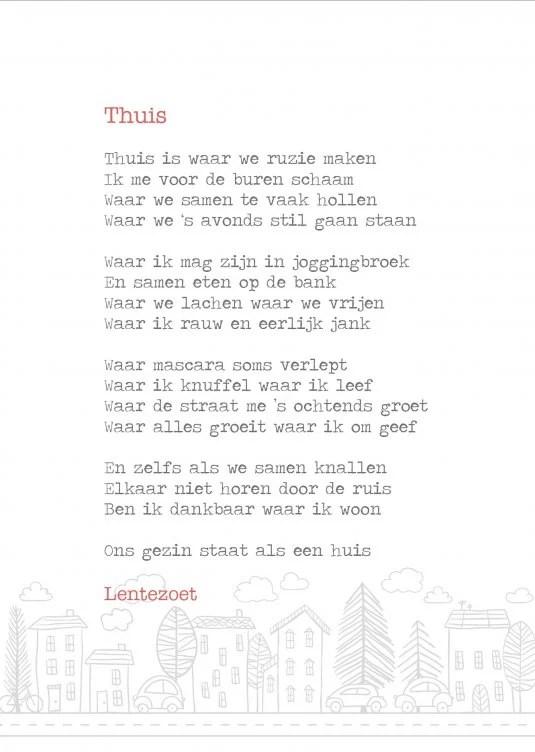 Wonderbaarlijk Thuis, gedicht door Lentezoet, plek vol herinneringen FT-09