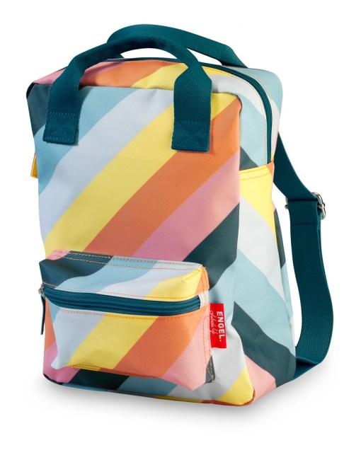 regenboogtas, rugzak small stripe rainbow, rainbows, engelpunt, liefsvanlauren.nl